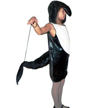 Костюм дельфина для девочки